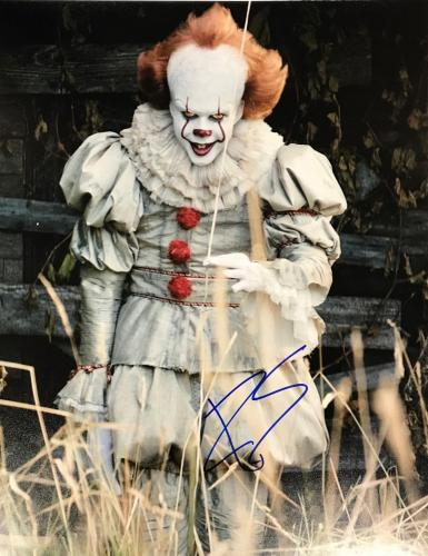 BILL SKARSGARD (IT-Pennywise the Dancing Clown) signed authentic 11x14 photo #2
