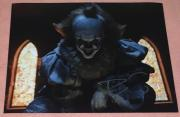 """BILL SKARSGARD SIGNED AUTOGRAPH """"IT"""" PENNYWISE 11x14 ACTION POSTER PHOTO PROOF G"""