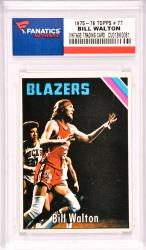 Bill Walton Portland Trailblazers 1975-76 Topps #77 Card