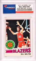 Bill Walton Portland Trailblazers 1977-78 Topps #120 Card