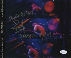 Bill Ward Autographed Photo - Black Sabbath 8x10 Authentic AFTAL COA