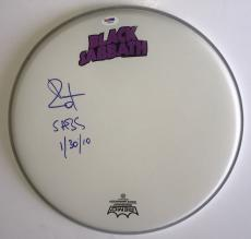 Bill Ward Black Sabbath signed Drumhead Remo new with psa dna coa