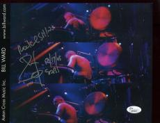 Autographed Bill Ward Photo - 8x11 COLOR BLACK SABBATH DRUMMER JSA