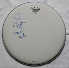 Bill Ward Signed Black Sabbath Authentic Autographed Drum Head PSA/DNA #Q33695