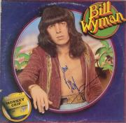 Bill Wyman Autographed Monkey Grip Album Cover - PSA/DNA COA
