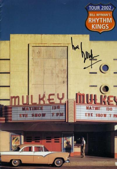 Bill Wyman Rolling Stones Jsa Signed Rythem Kings Program Authentic Autograph