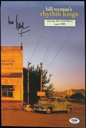 Bill Wyman Signed Rhythm Kings 1999 Program PSA/DNA #Q51580