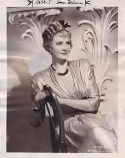 Billie Burke 1939 Type 1 Studio Press News Wire Photograph Photo Topper