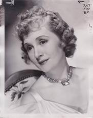 Billie Burke 1939 Type 1 Studio Press News Wire Photograph Photo Topper Takes a