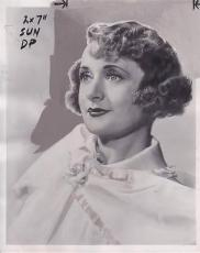 Billie Burke 1941 Type 1 Studio Press News Wire Photograph Photo Vinegar Tree