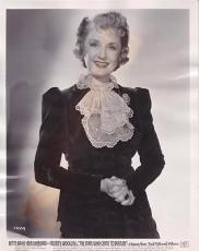 Billie Burke 1942 Type 1 Studio Press News Wire Photograph Photo Came to Dinner