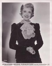 Billie Burke 1943 Type 1 Studio Press News Wire Photograph Photo Man Who Came to