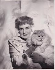 Billie Burke 1949 Type 1 John Alfred Piver Press News Wire Photograph Photo