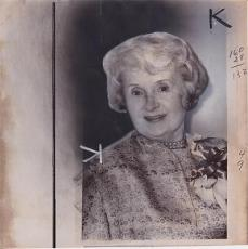 Billie Burke Mrs. Ziegfeld 1970 Type 1 Press News Wire Photograph Photo Glinda