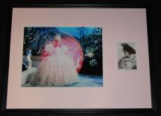 Billie Burke Signed Framed 18x24 Photo Display JSA Wizard of Oz Glinda