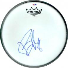 Billie Joe Armstrong Green Day Drumhead Autographed Signed Certified PSA/DNA COA