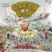 Billie Joe Armstrong Green Day Signed Dookie Album Cover W/ Vinyl BAS #D67068