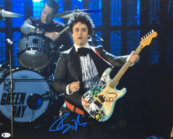 Billie Joe Armstrong Signed 11x14 Photo *Green Day *American Idiot BAS E51534