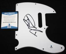 Billie Joe Armstrong signed pickguard, Green Day, Dookie, Nimrod, Beckett BAS