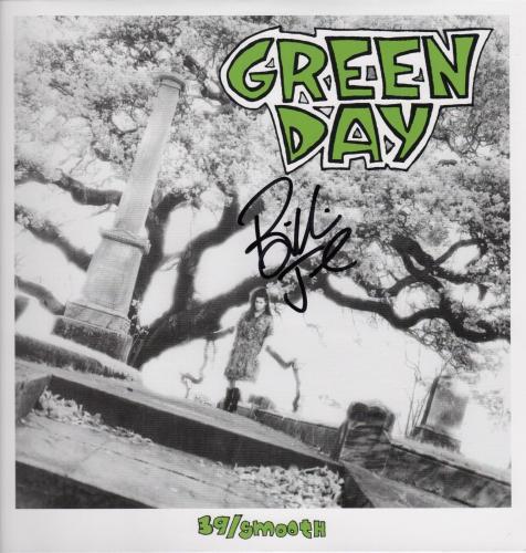 Billie Joe Signed Green Day 39/smooth Record Album Psa Coa Ad74582