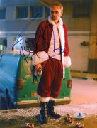 "Billy Bob Thorton Autographed 8"" x 10"" Bad Santa Standing Photograph - Beckett COA"
