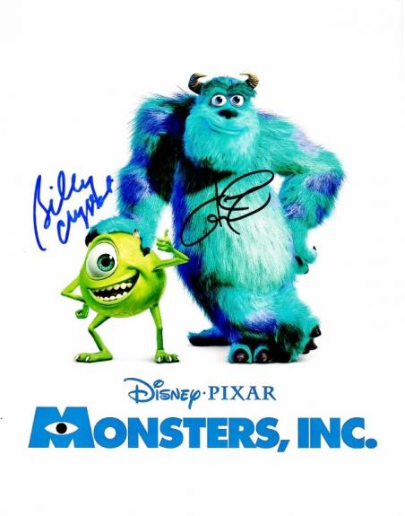 Billy Crystal and John Goodman Signed - Autographed MONSTERS, INC 11x14 inch Photo - Mike and Sully - Guaranteed to pass BAS