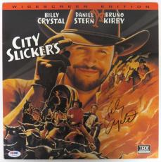 Billy Crystal Signed City Slickers Authentic Laser Disc (PSA/DNA) #T68975