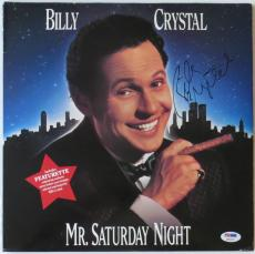 Billy Crystal Signed Mr. Saturday Night Laser Disc Cover (PSA/DNA) #P92167