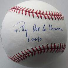 Billy Dee Williams Signed Authentic Major Leage Baseball (PSA/DNA) #V31803