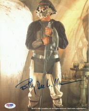 Billy Dee Williams Signed Star Wars Authentic Auto 8x10 Photo PSA/DNA #W62672