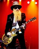 Billy Gibbons Signed - Autographed ZZ TOP Concert 11x14 inch Photo - Guaranteed to pass PSA or JSA