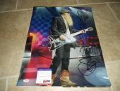 Billy Gibbons ZZ Top #2 HUGE Signed Autographed 16x20 Photo PSA Certified