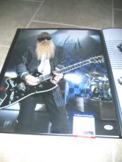 Billy Gibbons ZZ Top #3 HUGE Signed Autographed 16x20 Photo PSA Certified