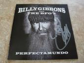 Billy Gibbons ZZ Top Autographed Signed Perfectamundo CD Book PSA Guaranteed