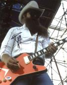 Billy Gibbons ZZ Top Signed 11X14 Photo Autographed PSA/DNA #AB40935