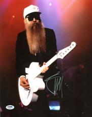 Billy Gibbons ZZ Top Signed 11X14 Photo Autographed PSA/DNA #AB40939