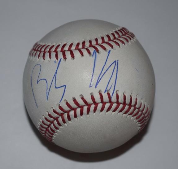 Billy Idol Signed Autographed MLB Baseball PSA/DNA COA