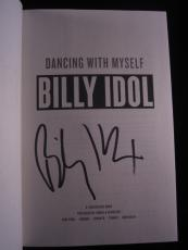 Billy Idol signed book Dancing with Myself 1st Printing