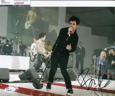 Billy Joe Armstrong signed Green Day 8x10 photo JSA Authenticated M84047