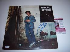 Billy Joel 52nd Street Jsa/coa Signed Lp Record Album