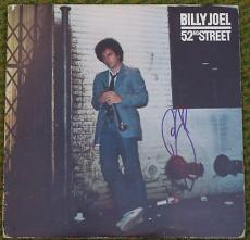 BILLY JOEL 52nd STREET SIGNED ALBUM AUTOGRAPH IN-PERSON COA PIANO MAN NEW YORK