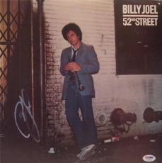 Billy Joel 52nd Street Signed Autographed Album Psa/dna S16893