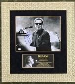 BILLY JOEL-An Innocent Man signed/autographed photo custom framed display-JSA