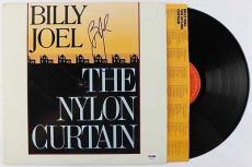 Billy Joel Authentic Signed The Nylon Curtain Vinyl Psa/dna V18310