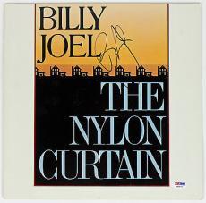 Billy Joel Authentic Signed The Nylon Curtain Vinyl Psa/dna V45870