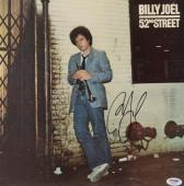 Billy Joel Autographed 52nd Street Album Cover - PSA/DNA COA