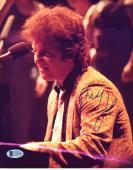 "Billy Joel Autographed 8""x 10"" Playing Piano Photograph - BAS COA"