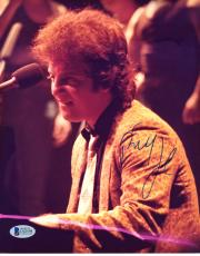 "Billy Joel Autographed 8""x 10"" Playing Piano Photograph - BAS COA"