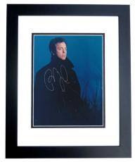 Billy Joel Autographed 8x10 Photo BLACK CUSTOM FRAME
