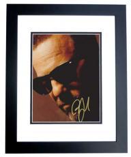 Billy Joel Autographed 8x10 Photo BLACK CUSTOM FRAME
